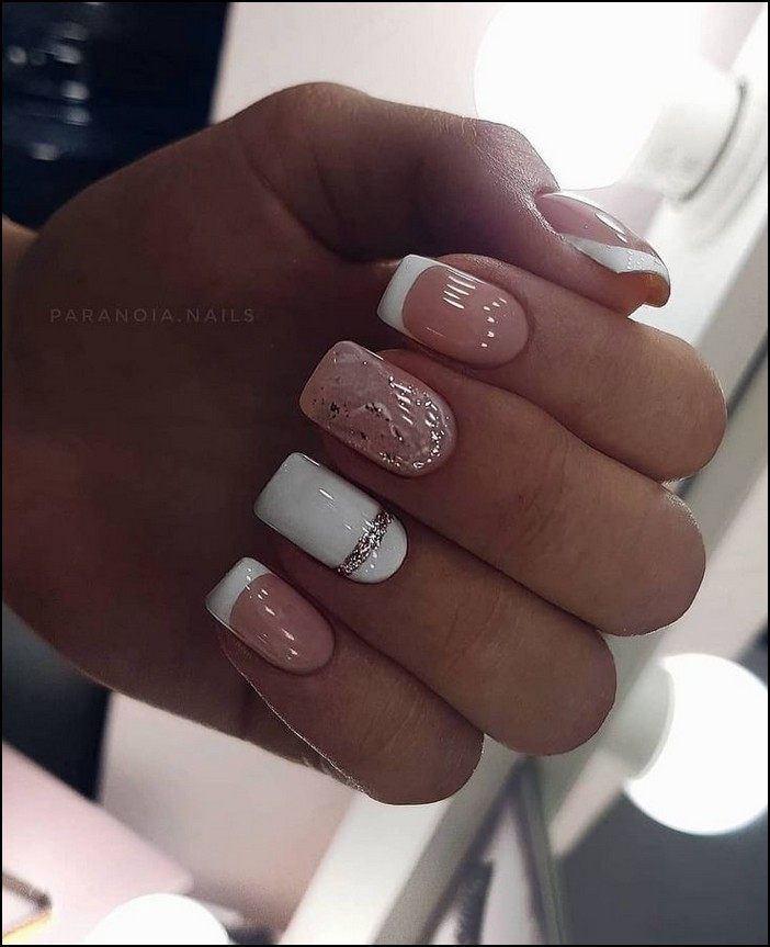 113 Elegant Nail Designs For Short Nails Page 34 Myblogika Com Acrylic Nail Designs Square Acrylic Nails Square Nails
