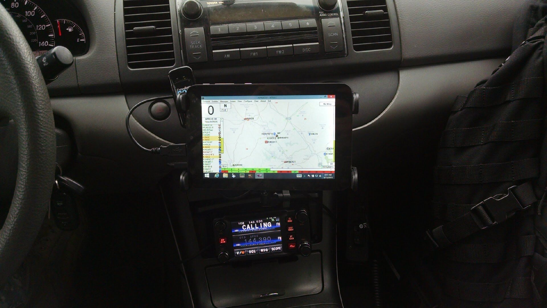 Add Aprs Maps And An Igate To The Yaesu Ftm 400dr Ham Radio Mic Wiring Resources You Need Bookmark Dxzone