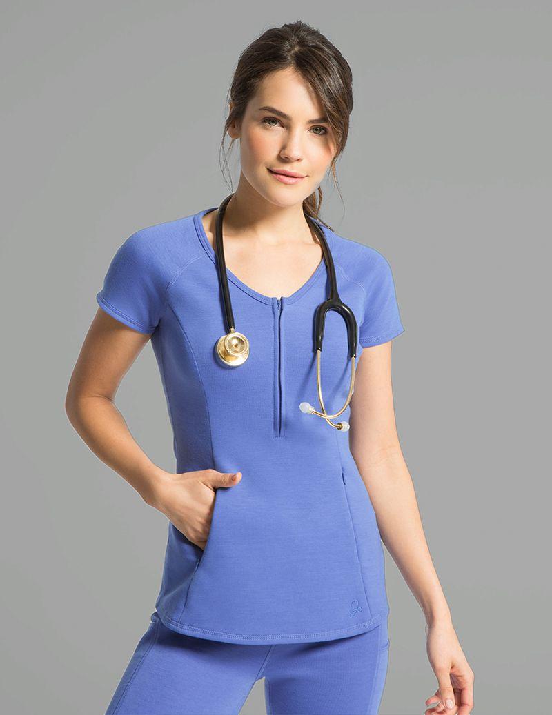 b7625747ee Yoga Pant in Ceil Blue - Medical Scrubs | nurse wishlist | Medical ...