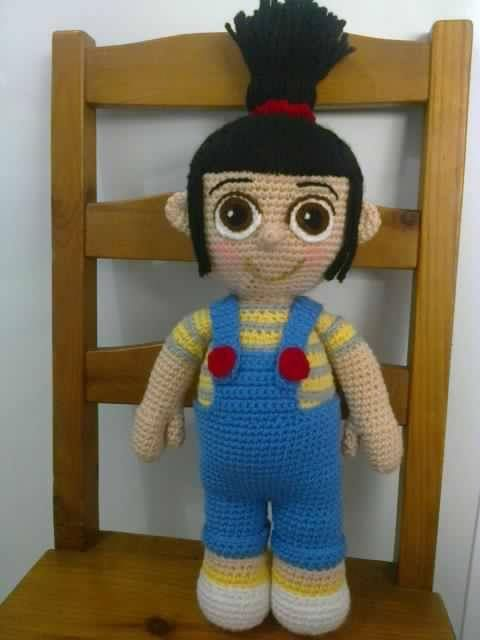 agnes despicable me | Muñecos crochet | Pinterest
