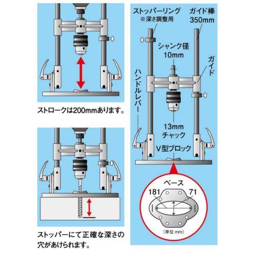 Kanzawa Drill Guide Tool 13F K-801-4