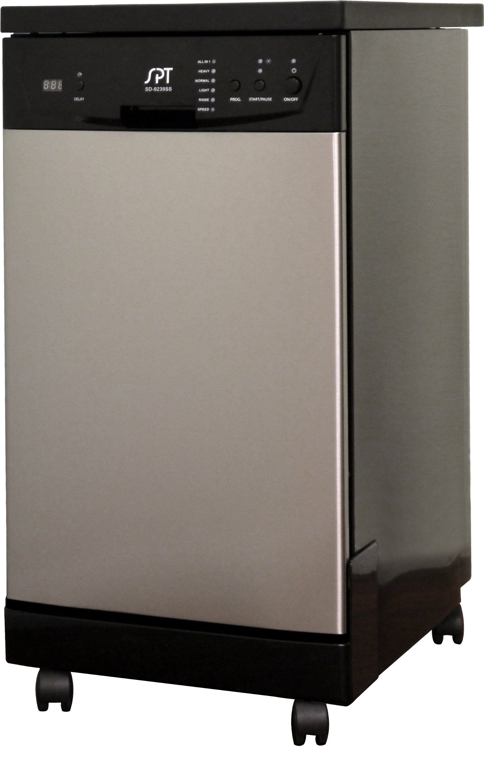 Amazoncom Spt 18 Inch Portable Dishwasher Stainless Steel