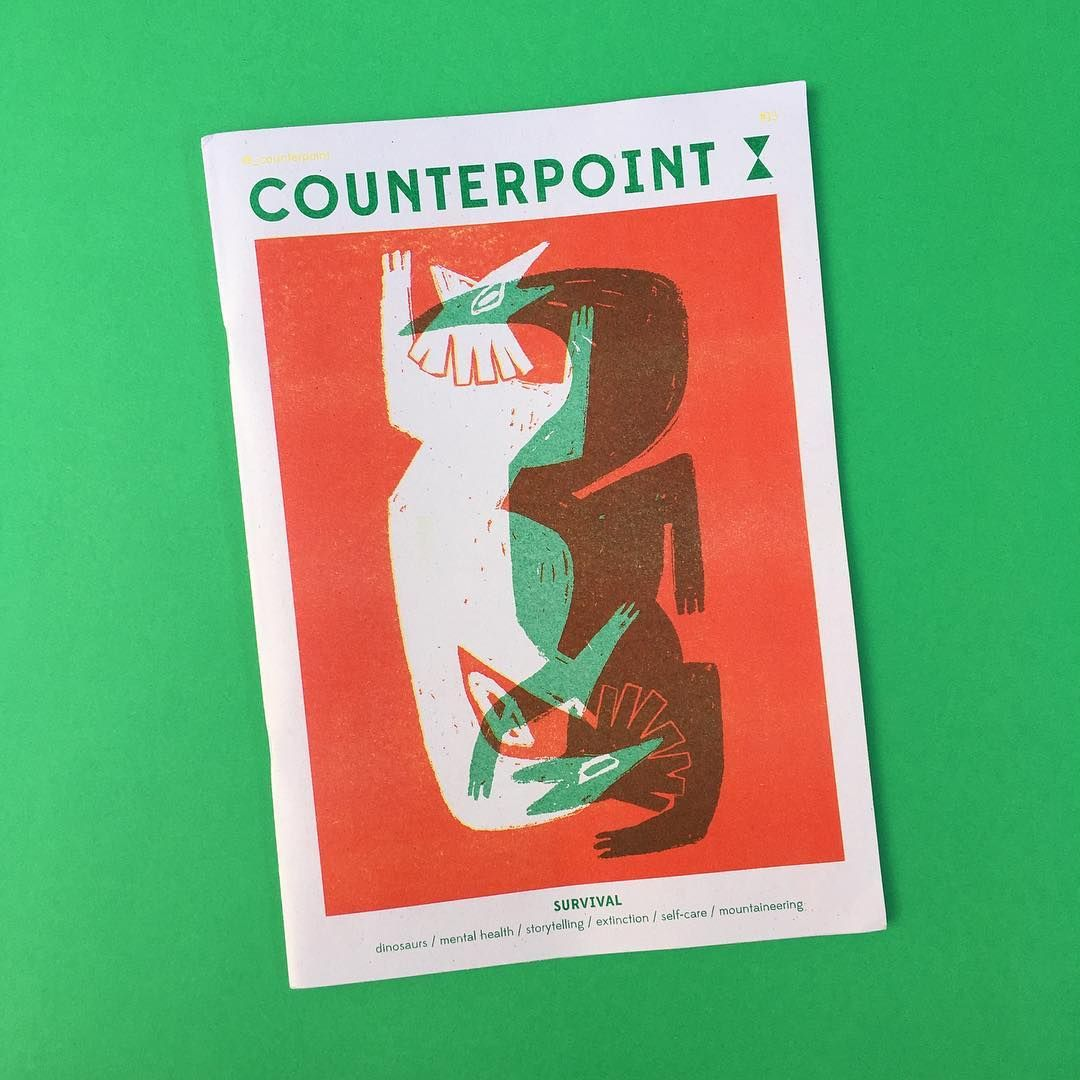 "271 Likes, 2 Comments - Steven Watson (@stackmagazines) on Instagram: ""Looking good in #riso red and green, the new issue of @_counterpoint has dropped its signature blue…"""