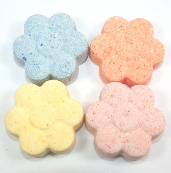 April Showers Bring May Flowers 4 Flower Bath Bombs