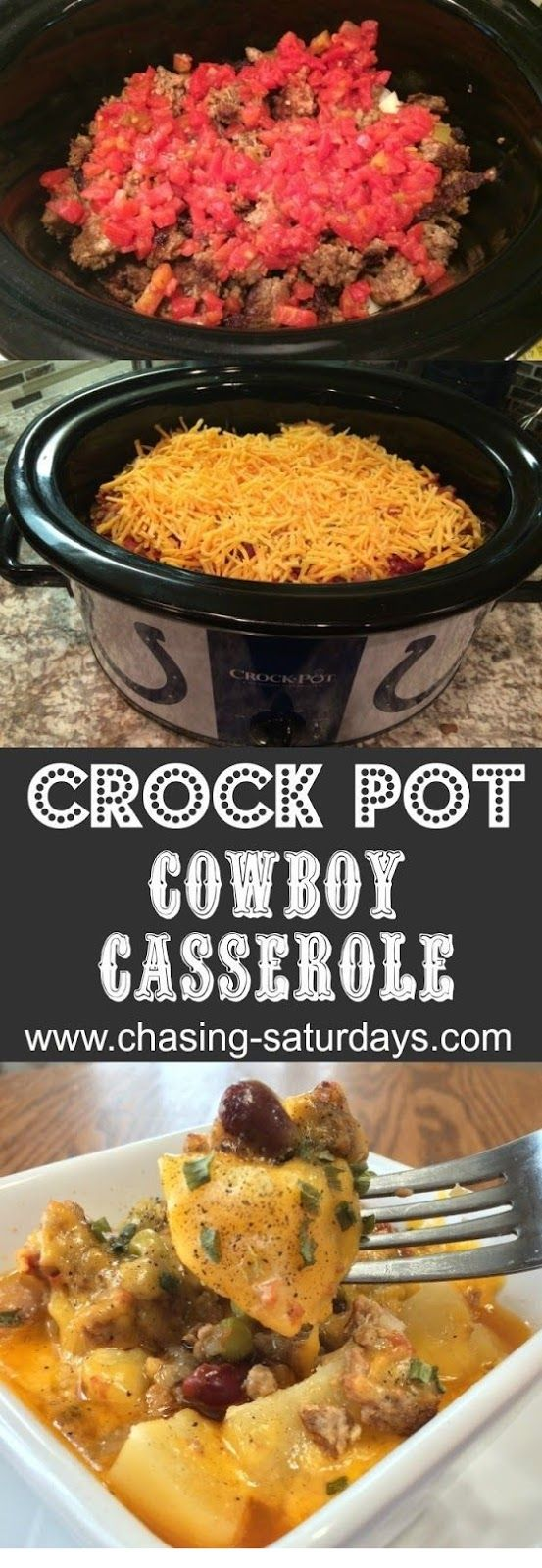 CROCKPOT | CROCK POT COWBOY CASSEROLE is Tasty and Yumm!!! Just CLICK THE LINK to SEE THE COMPLETE RECIPES and step by step instruction #crockpotchickeneasy