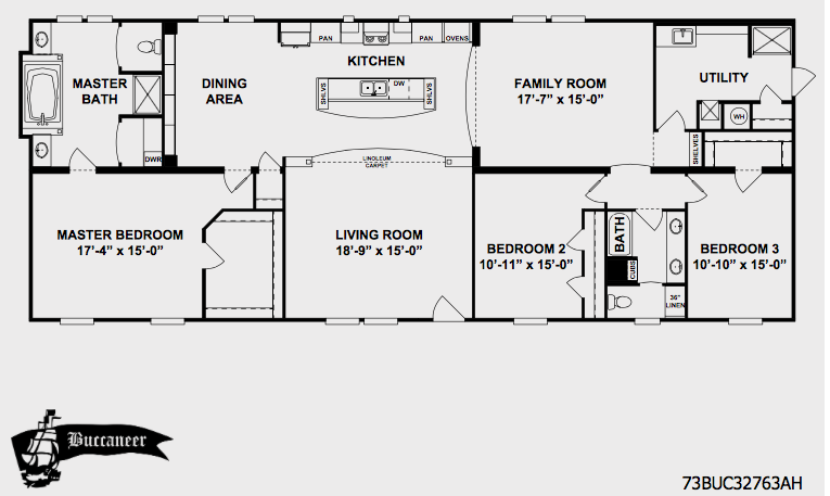 Clayton Home With Customization Mobile Home Floor Plans House Floor Plans Floor Plans