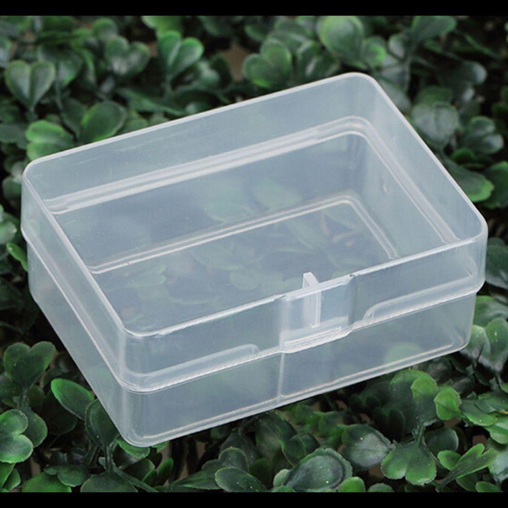 5x durchsichtigen Kunststoff Aufbewahrungsbox Sammlung Container Fall Teil Bo W0