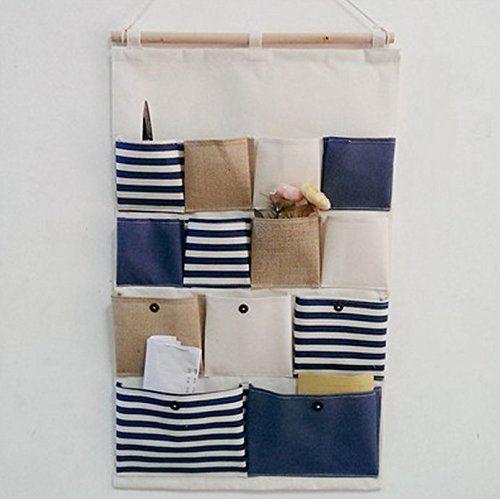 Kreative Mode Baumwollbeutel Wand Hangenden Beutel 13 Tasche Tur Zuruck Aufbewahrungstasche Hangende Ruckwand Hing Turt Utensilo Hangeaufbewahrung Aufbewahrung
