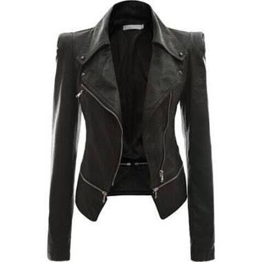jaqueta de couro feminina - Pesquisa Google