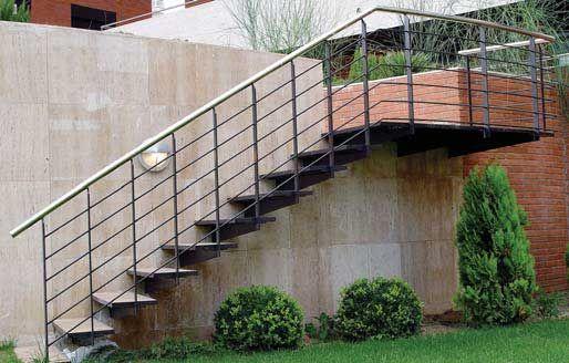 Barandillas de hierro para protecci n de balcones antepechos escaleras y muros combinando la - Barandillas de hierro ...