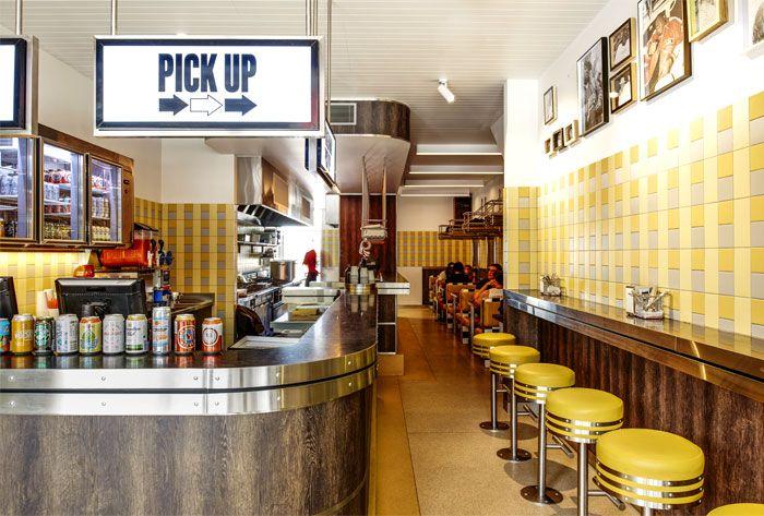 Idées de décoration Diner Américain Vintage | Diners, Vintage diner ...