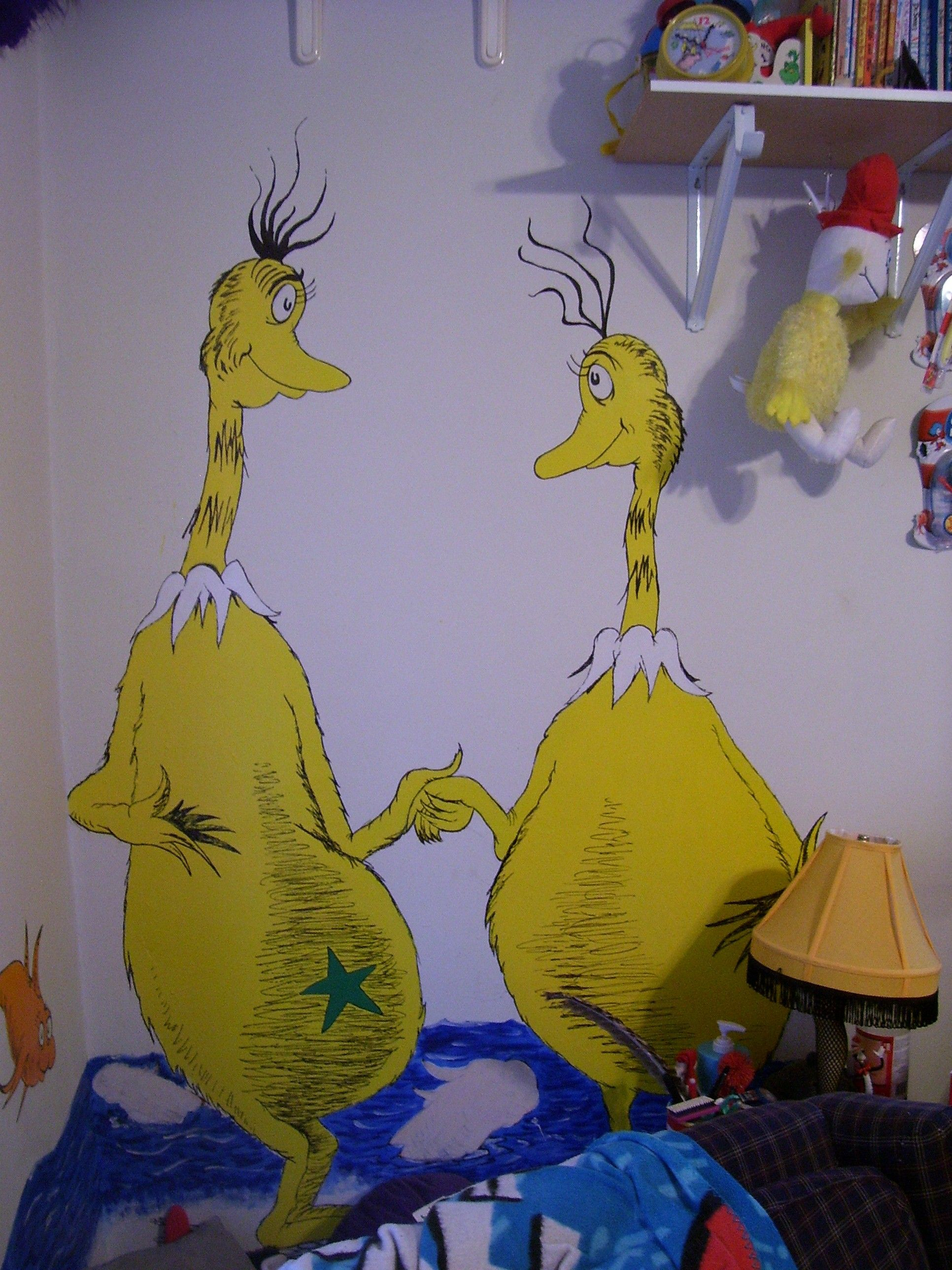 Sneeches Cartoon Characters Seuss Cartoon