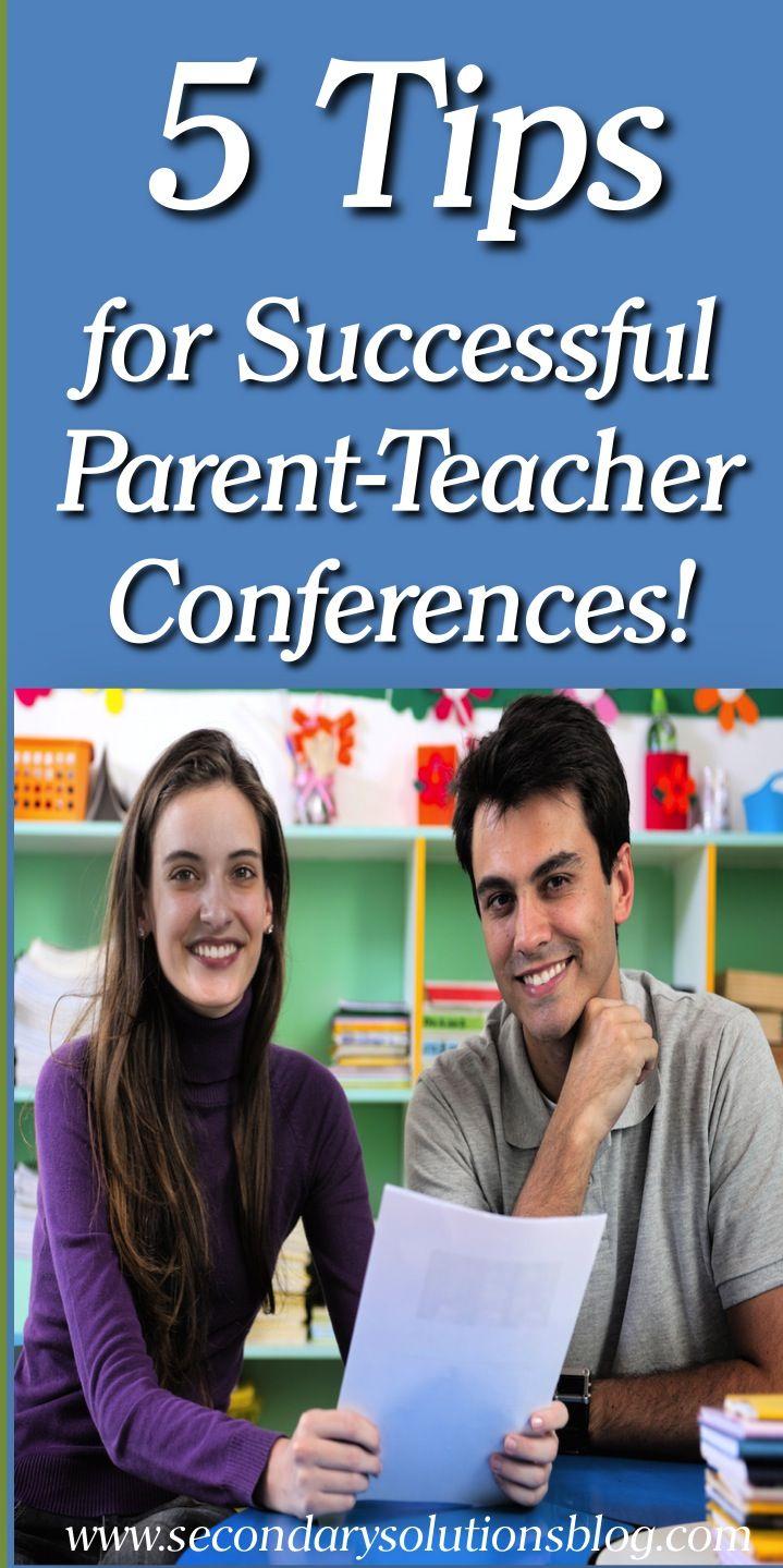 Tips For Successful Parent Teacher >> 5 Smart Tips For Successful Parent Teacher Conferences Must Pin