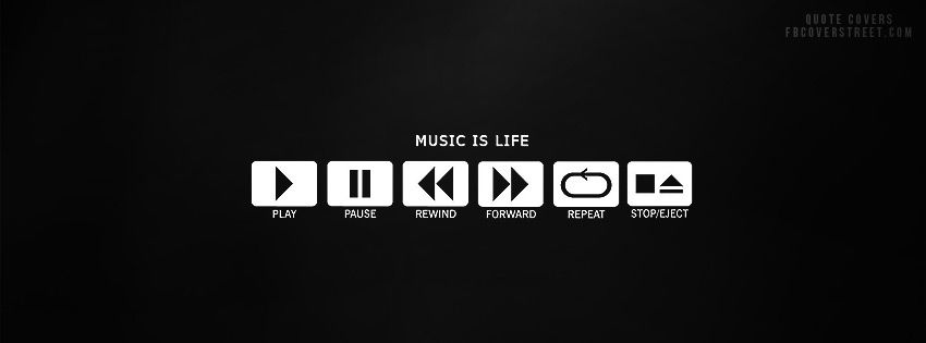 Music Is Life Facebook Cover Music Logo Music Is Life Music Wallpaper
