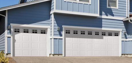 Vinyl Garage Door From Wayne Dalton Www Wayne Dalton Com Garage Door Styles Vinyl Garage Doors Garage Door Trim
