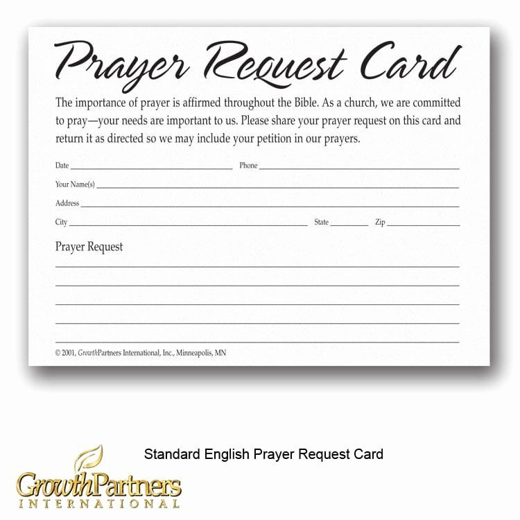 Prayer Request Cards Free Printables Awesome Prayer Request Cards Growthpartners International Prayer Request Prayers Return Address Labels Template