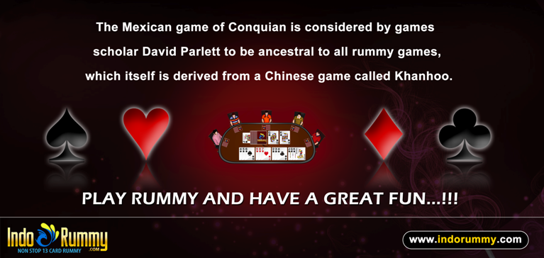 Enjoy online rummy game by playing 13 cards free Indian