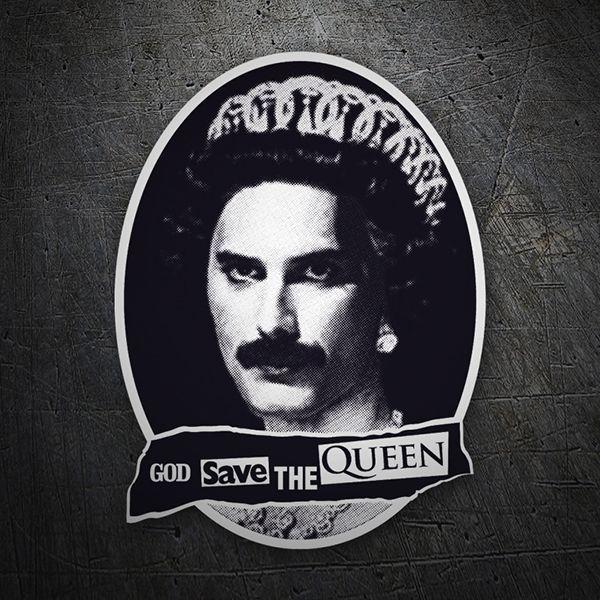 Pegatinas: Save the Queen #TeleAdhesivo #godsavethequeen