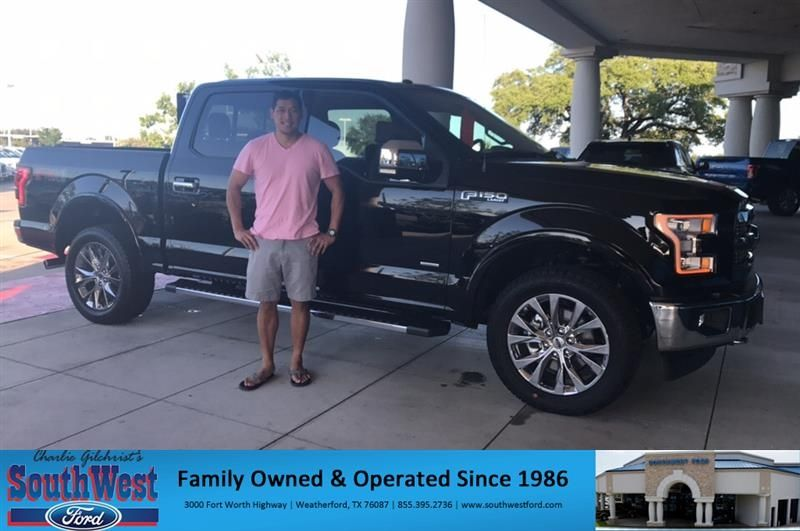 Congratulations Richard On Your Ford F 150 From Patricia