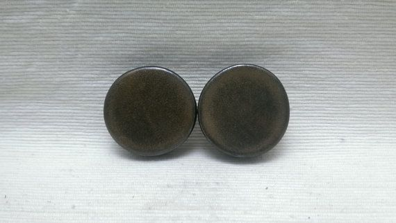 PLUGS GAUGES TUNNELS  1 1/2 38 mm Saturation Gold by CagwinManchen