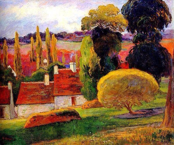 Paul Gauguin et Monet