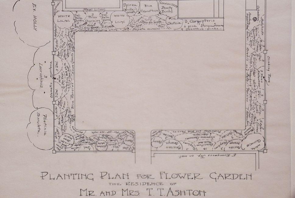 Flower Gardens - Lord  Schryver Conservancy Garden Plans