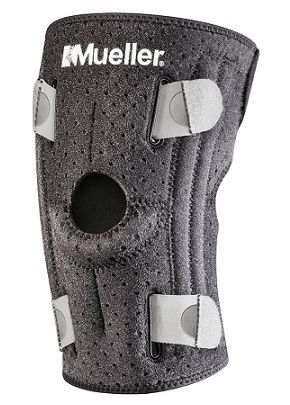 MUELLER ADJUST-TO-FIT KNEE STABILIZER- A lightweight knee stabilizer, designed for use during sports and physical activities, you can easily adjust the compression for custom fit. Features 4 side stabilizers offer maximum support to the knee.A$61.95.
