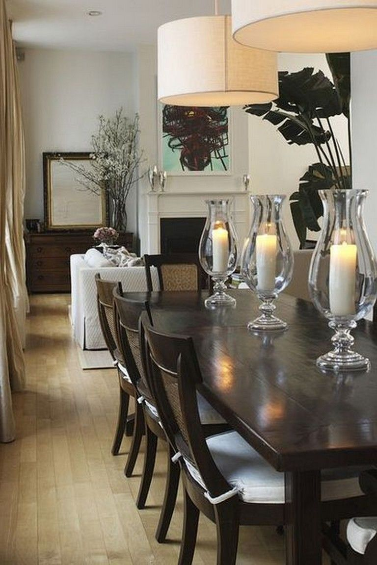 23 Smart Ideas To Decorate Dining Room Table Center Pieces Diningroomdecorating Diningroomfurni Dining Room Table Dining Table Decor Pool Table Dining Table