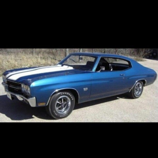Hot Rod! 1970 Chevrolet Chevelle SS....I even have a exact replica toy!