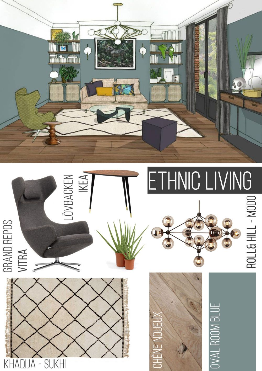 ethnic interior sur interior ethnic boho. Black Bedroom Furniture Sets. Home Design Ideas