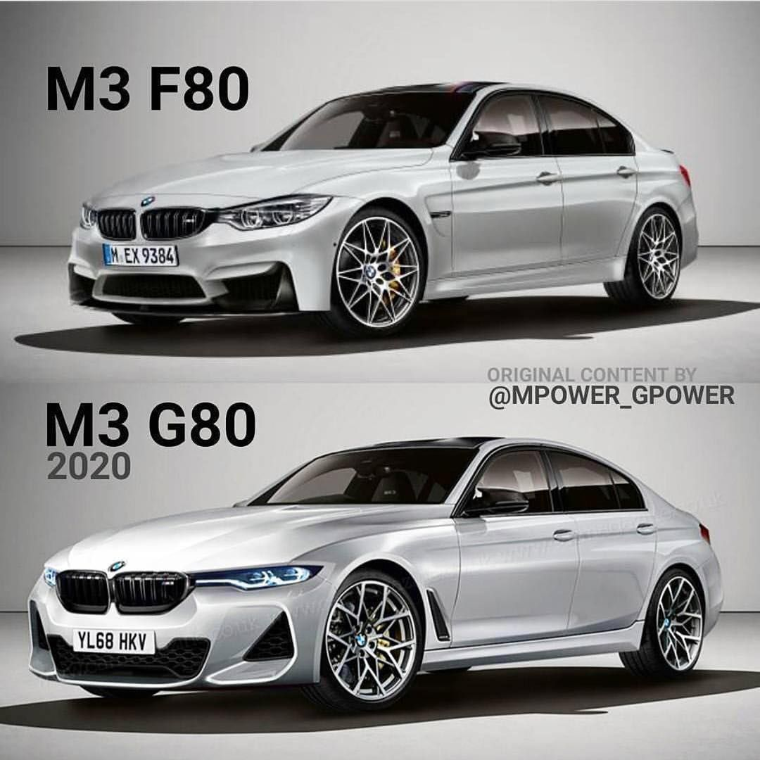 Bmw M3: Which Would You Pick F80 Bmw M3 Or New G80 M3 Concept 🤔?