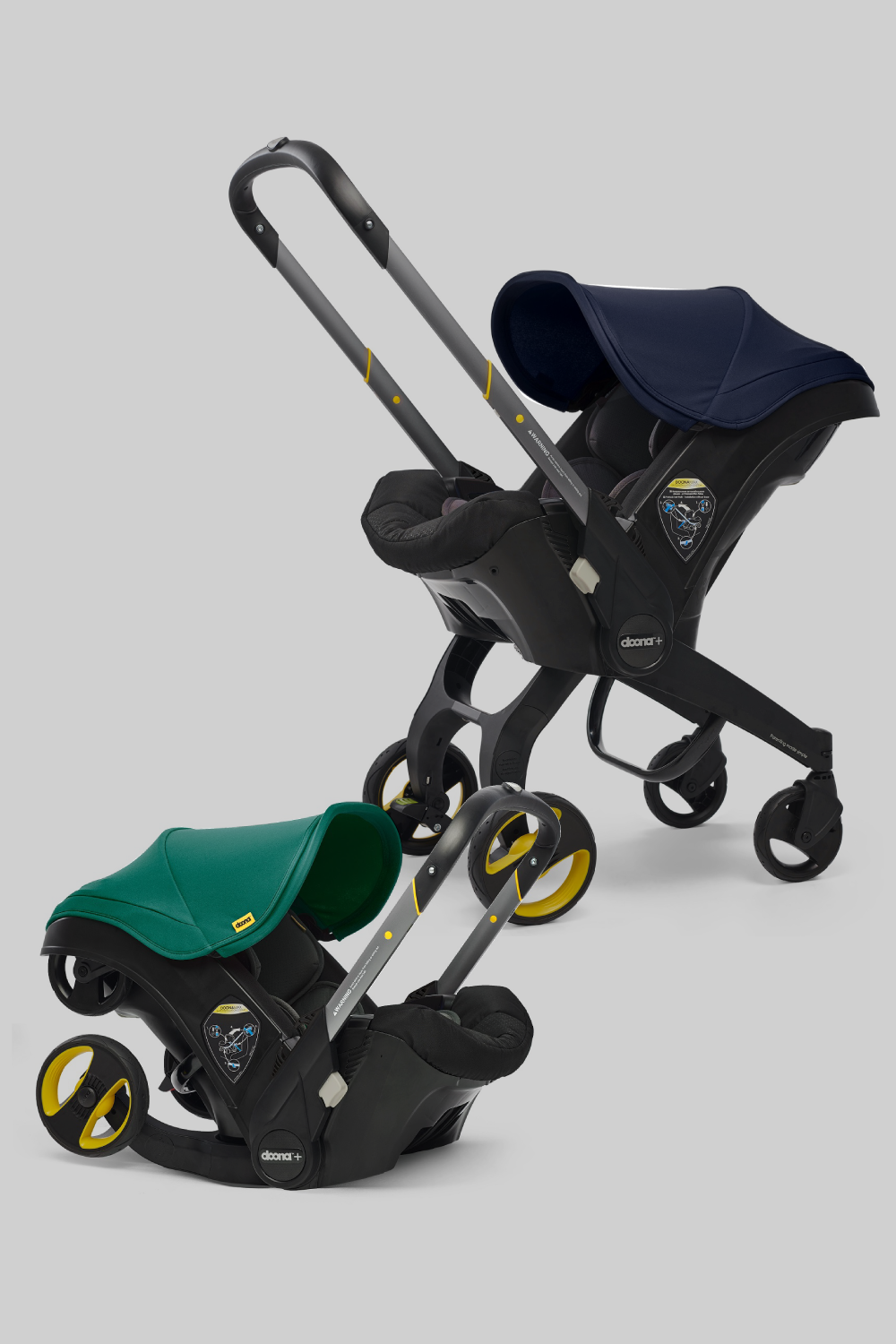 Doona 2019 Infant Car Seat and Stroller with Base Car