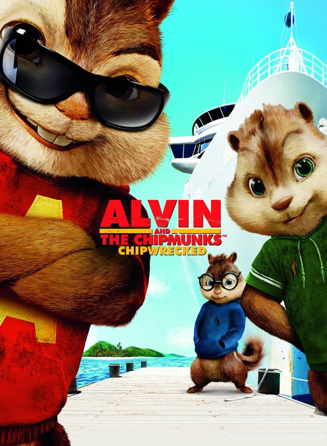 Alvin And The Chipmunks Chip Wrecked With Images Chipmunks