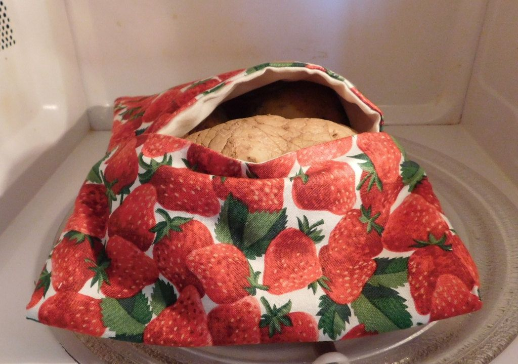 Strawberry Microwave Potato Bag Cooking Sweet Bake Rv Supplies Farm Country Gifts Fruits