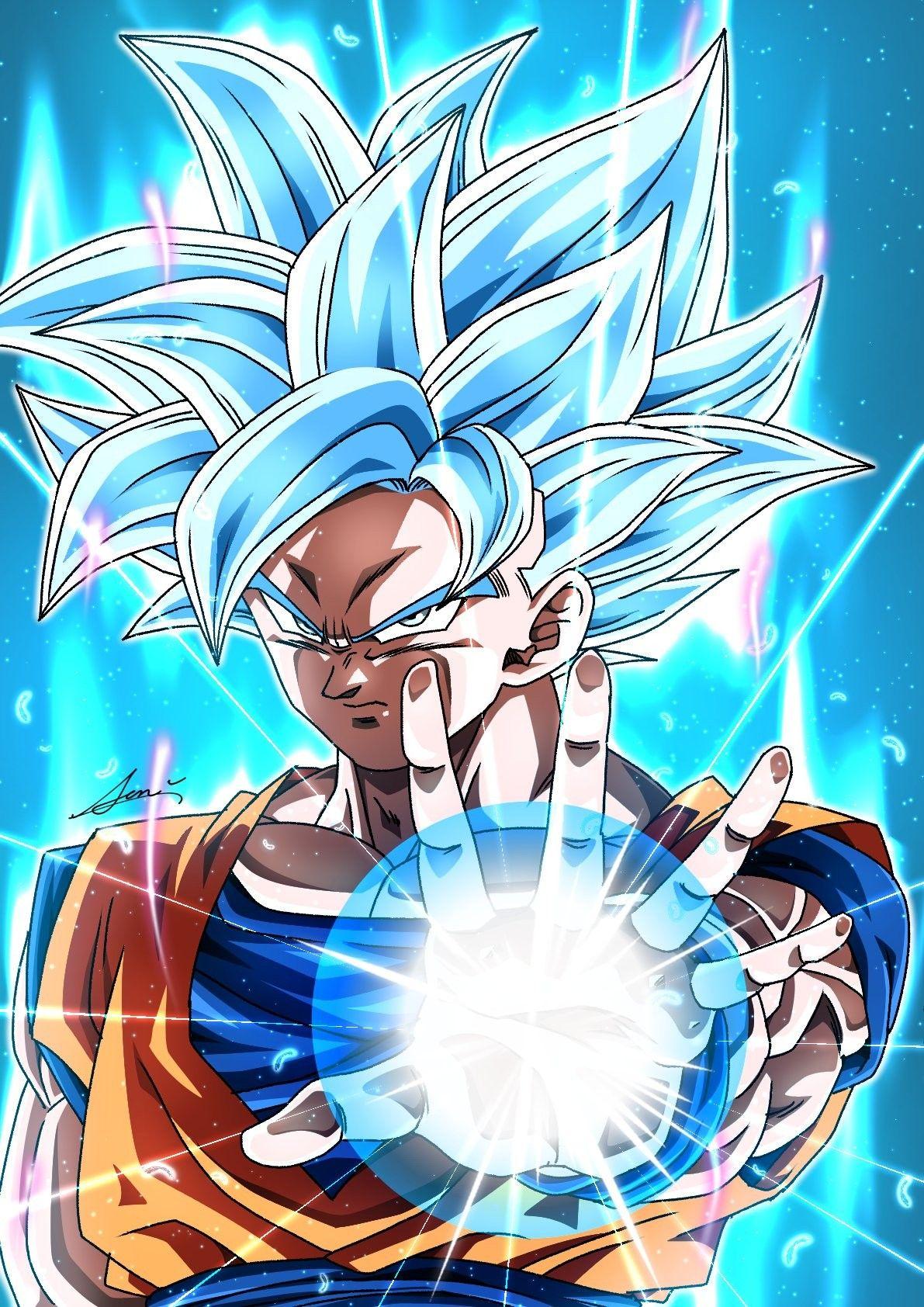 Goku ssj Blue UI