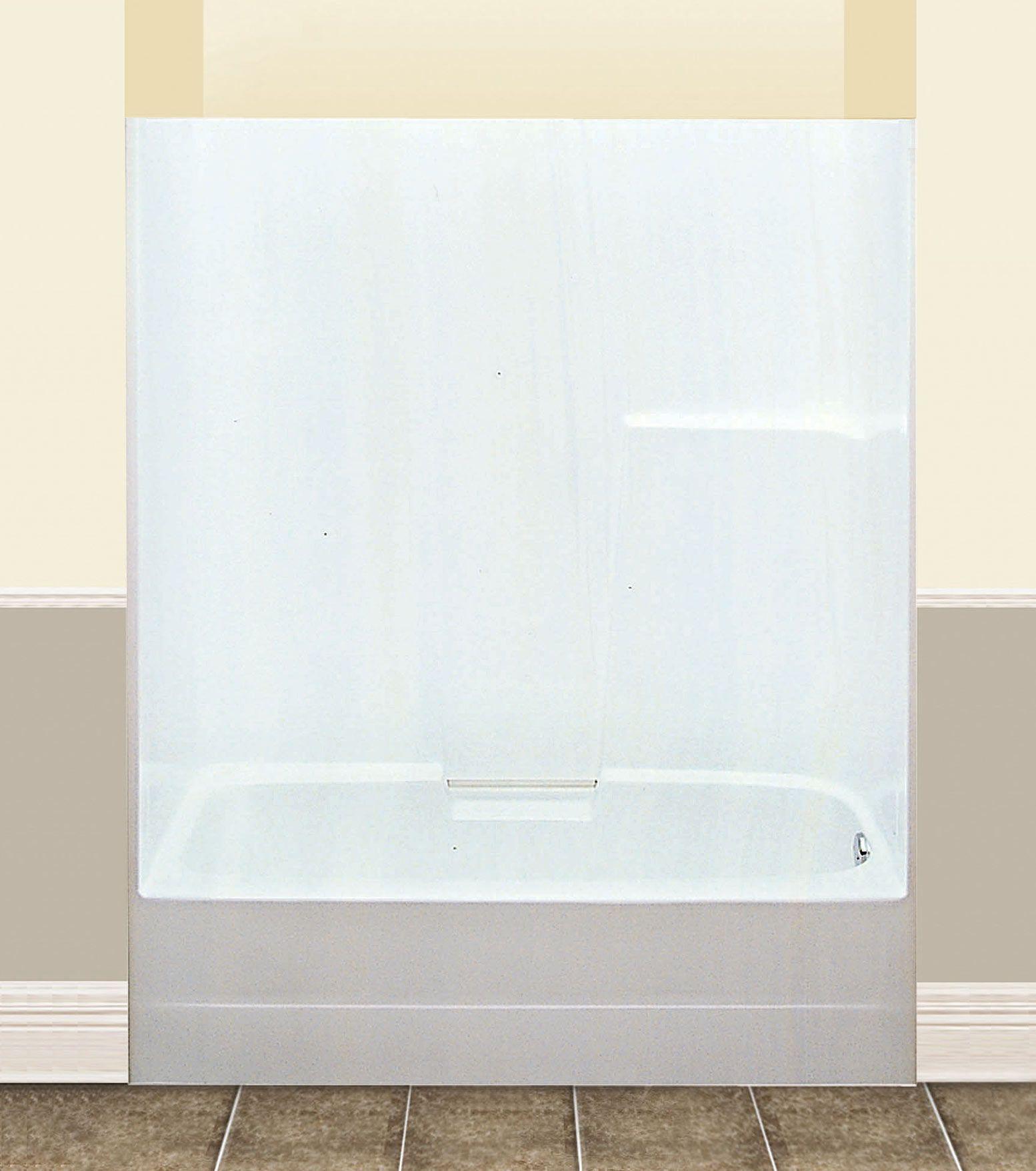 Banff 60/60S Alcove or Tub showers bathtub - Advanta by MAAX ...