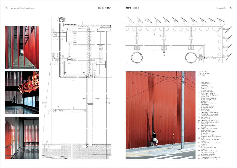 Detail Magazine Architecture Details Architecture Design Architectural Section