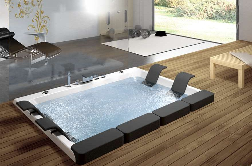 Bathrooms Jacuzzi Designs modern outdoor jacuzzi designs | hot tubs & jacuzzis | pinterest