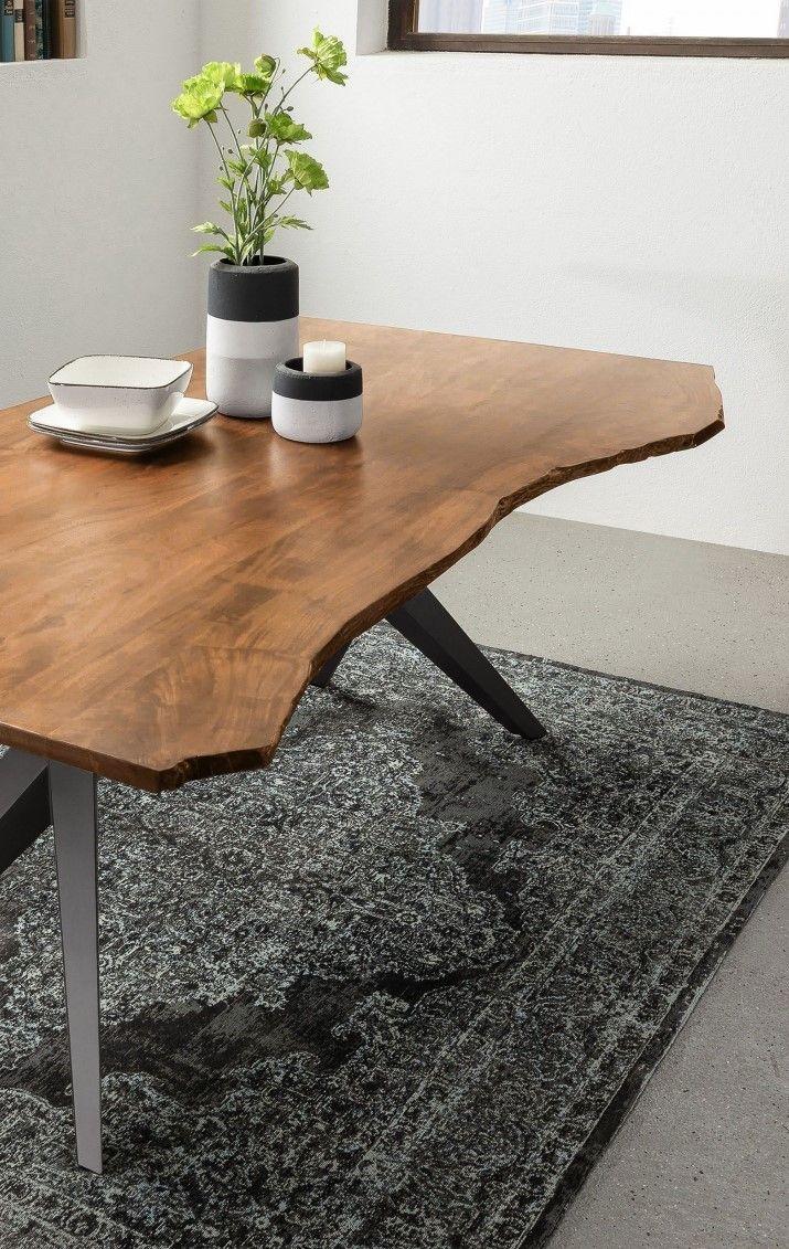 Möbel Baumkante versandfrei kaufen Esstisch holz