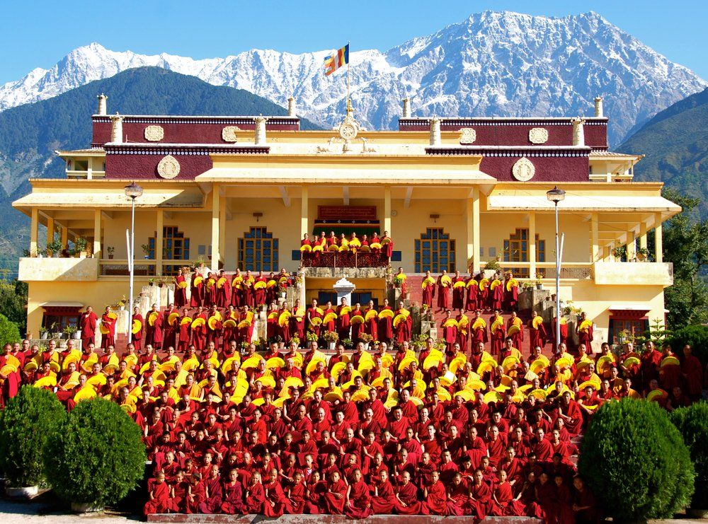 Gyuto Tantric Monastery in Dharamsala India   Places I've
