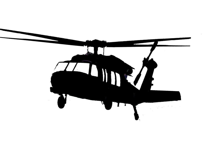 Uh 60 Blackhawk Helicopter Vinyl Sticker