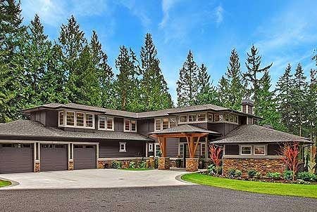 Plan W23481JD: Photo Gallery, Premium Collection, Luxury, Contemporary, Northwest, Prairie Style House Plans & Home Designs*****like almost everything, pics helped lol