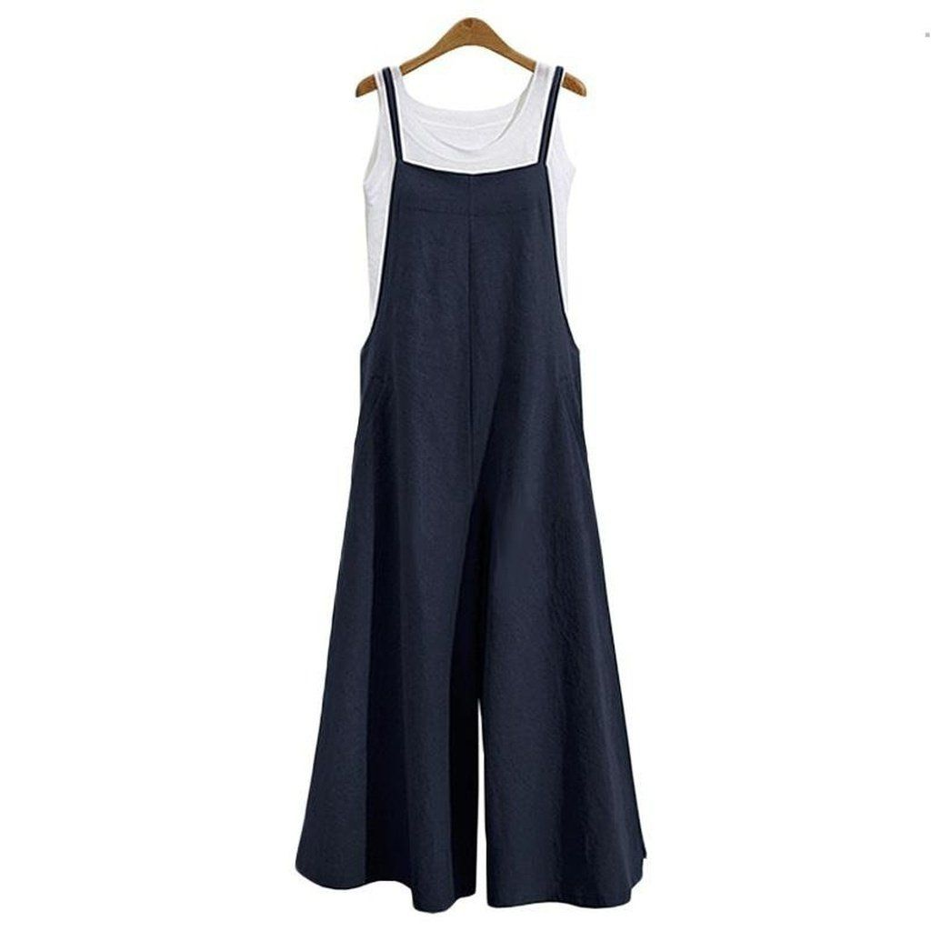 3 Color Casual Jumpsuit Long Suspender Overalls Bib Pants in 2019 ... 505d9722bf95