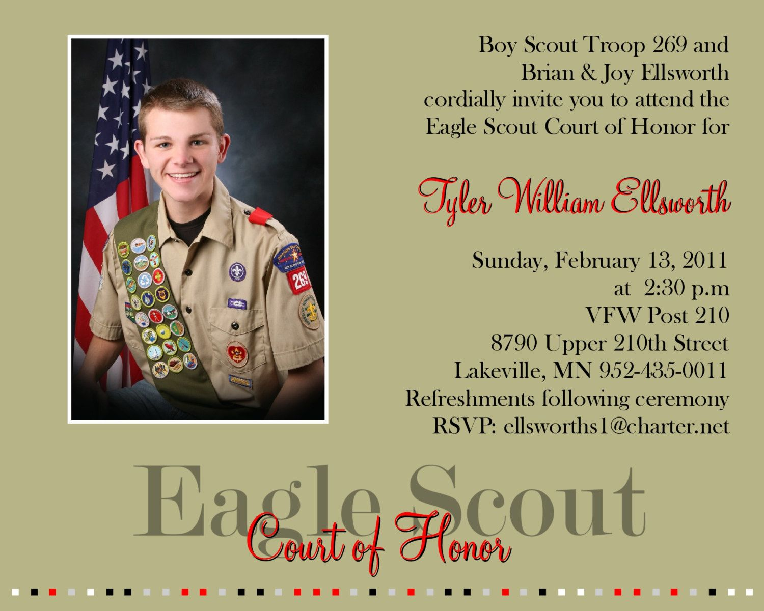 eagle scout If you are from an organization within the san diego or imperial counties and  wish to register a potential eagle scout service project for consideration by an.