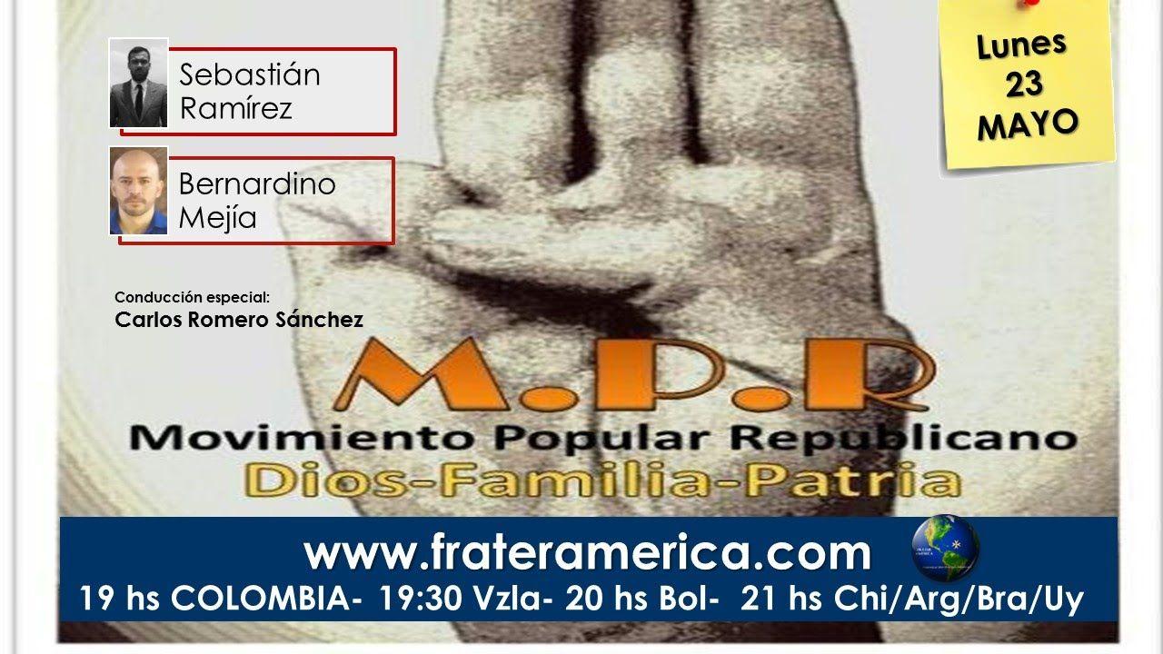 Programa Especial. M.P.R. Movimiento Popular Republicano. 23-05-2016.