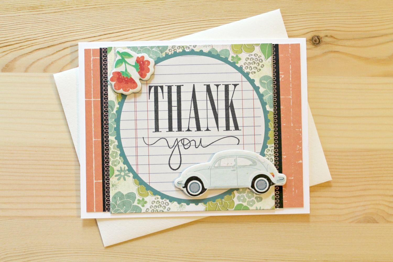 Thank you bug Card by Carson R.
