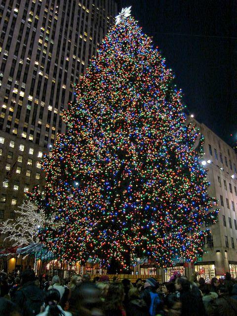 the rockfeller center christmas tree new york city usa by candelachris on flickr - Big Christmas Tree In New York