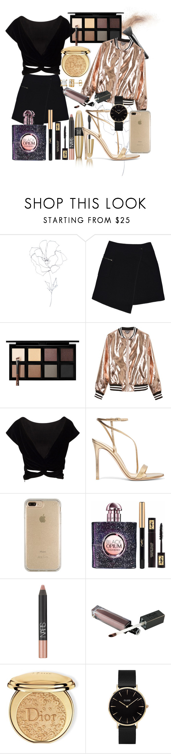 """""""Untitled #52"""" by marianayasmin on Polyvore featuring Blume, MARC CAIN, Victoria's Secret, Down to Earth, Sans Souci, Gianvito Rossi, Speck, Yves Saint Laurent, NARS Cosmetics and Christian Dior"""