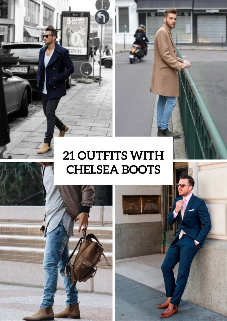 a0516d3bae 21 Cool Men Outfit Ideas With Chelsea Boots - Styleoholic   George ...