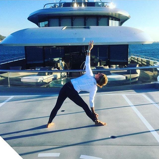 Meet with the Yoga Instructor of a 300'+ superyacht!